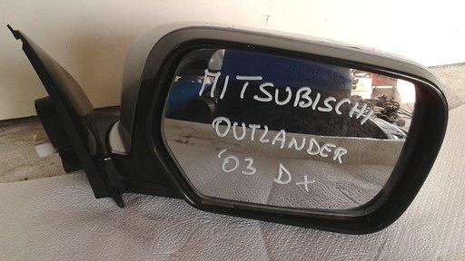 Retrovisore esterno elettrico destro dx usato originale Mitsubishi Outlander 1à serie