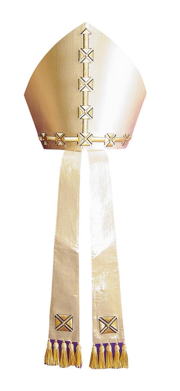 Mitra M21 Croce Sant'Andrea - Seta Lurex
