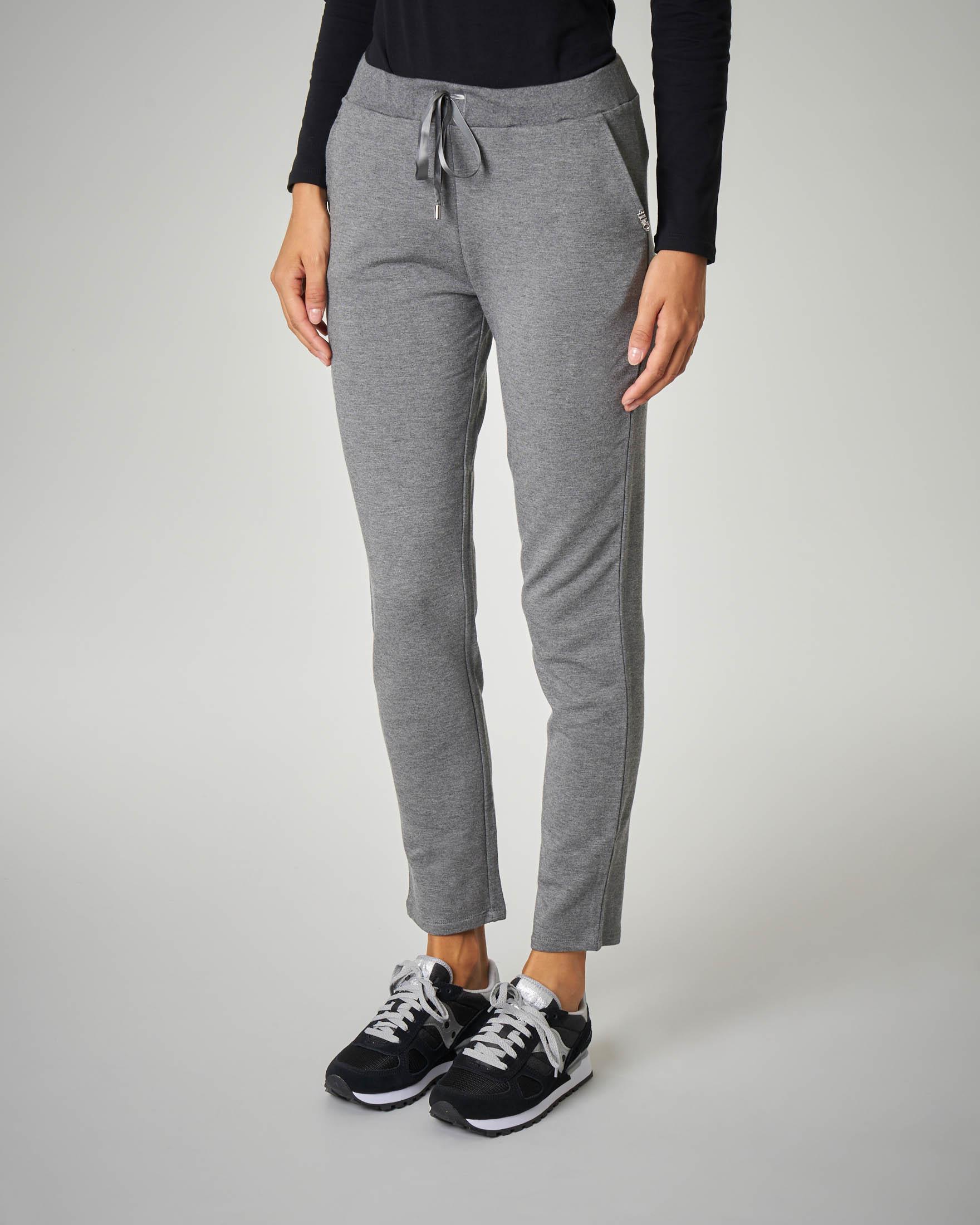 Pantaloni jogger grigi