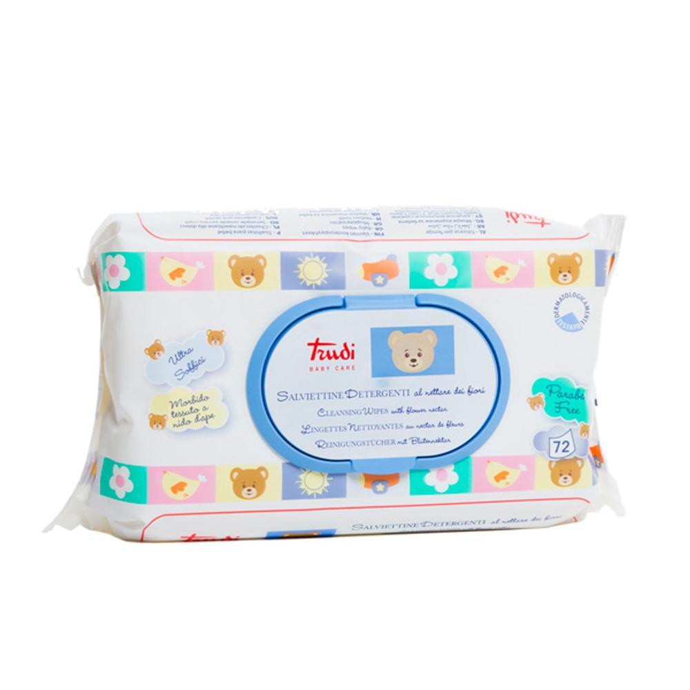 3x Trudi Salviettine Detergenti