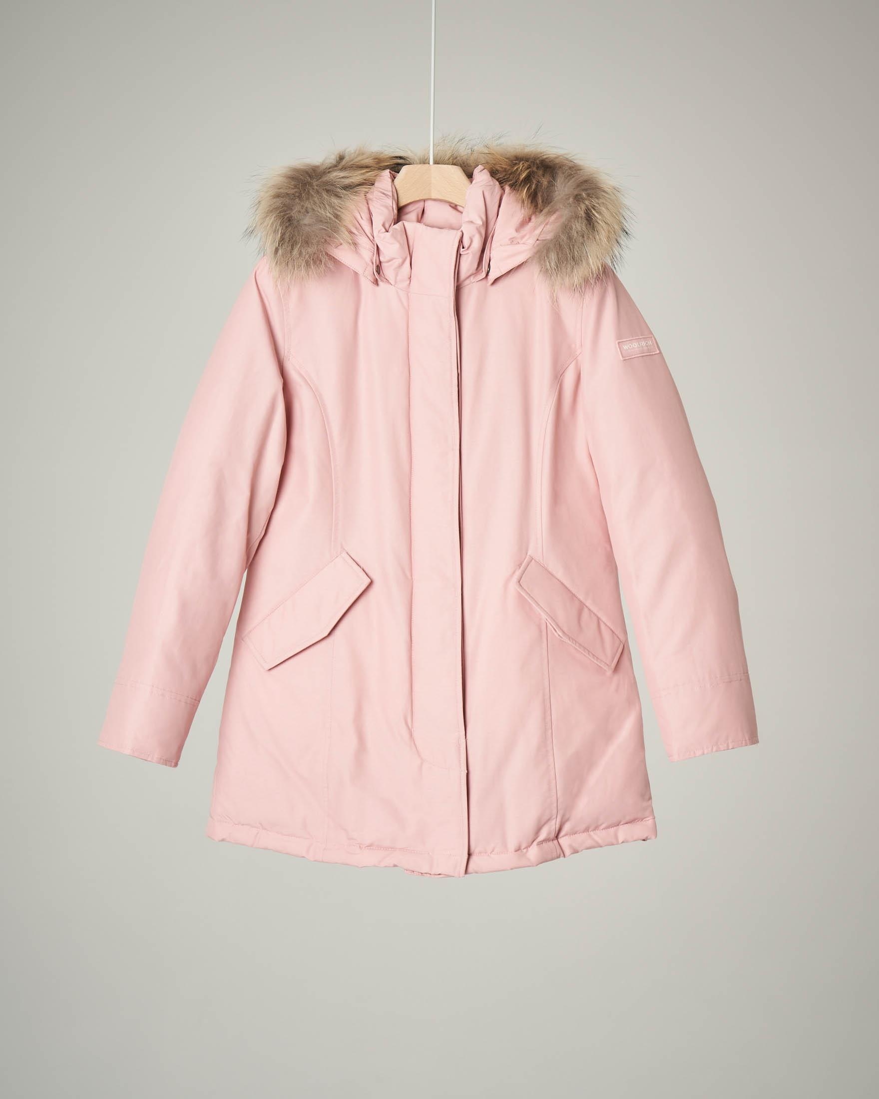Arctic parka rosa