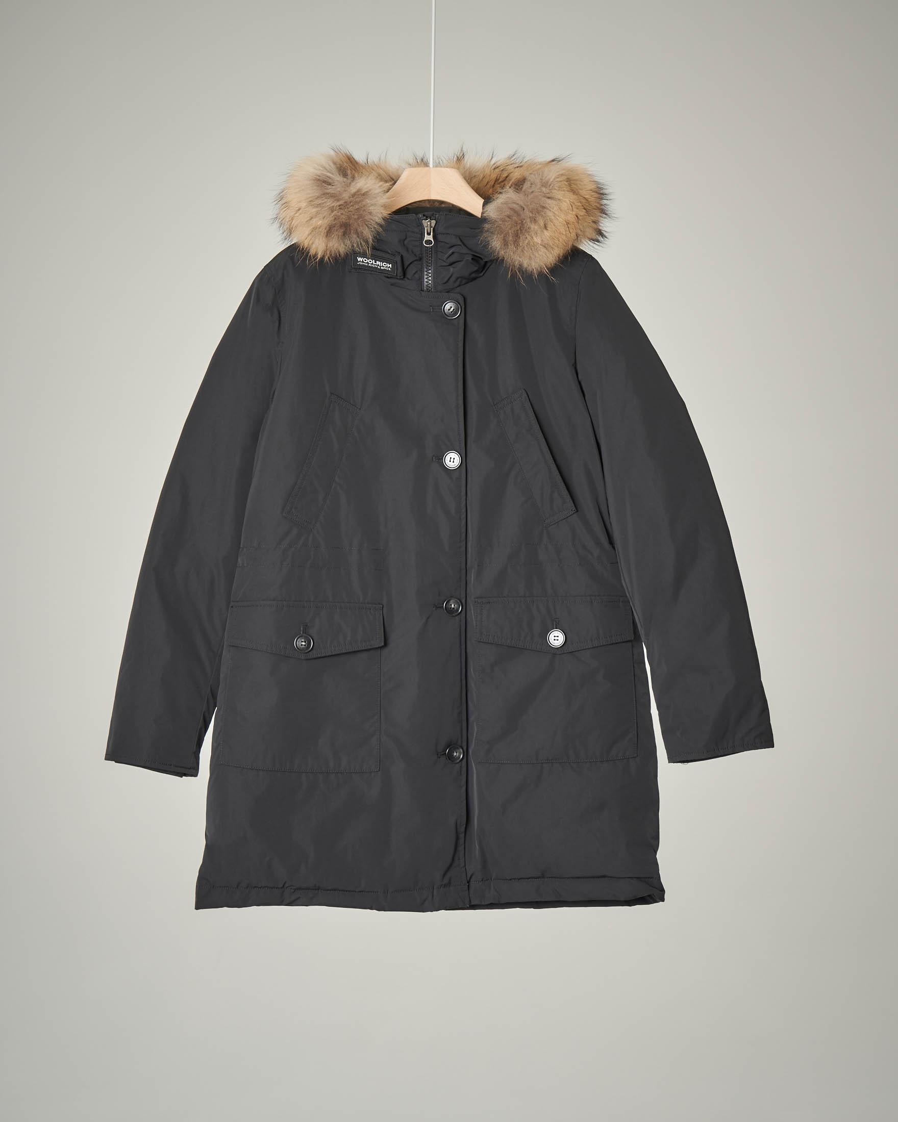 City parka nero