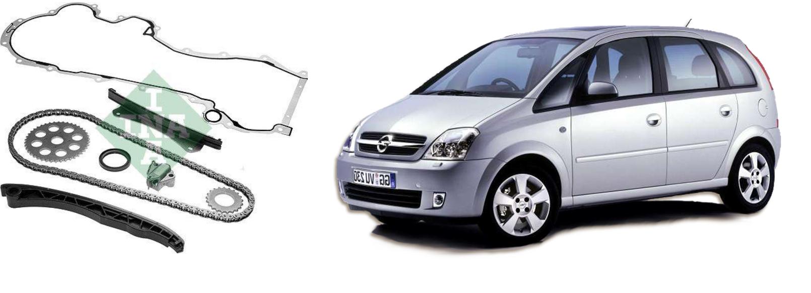 Kit catena distribuzione 1.3 CDTI per Opel Meriva