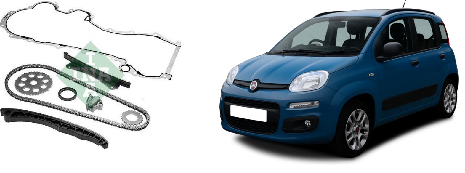 Kit catena distribuzione 1.3 Multijet per Fiat Panda mod. 312
