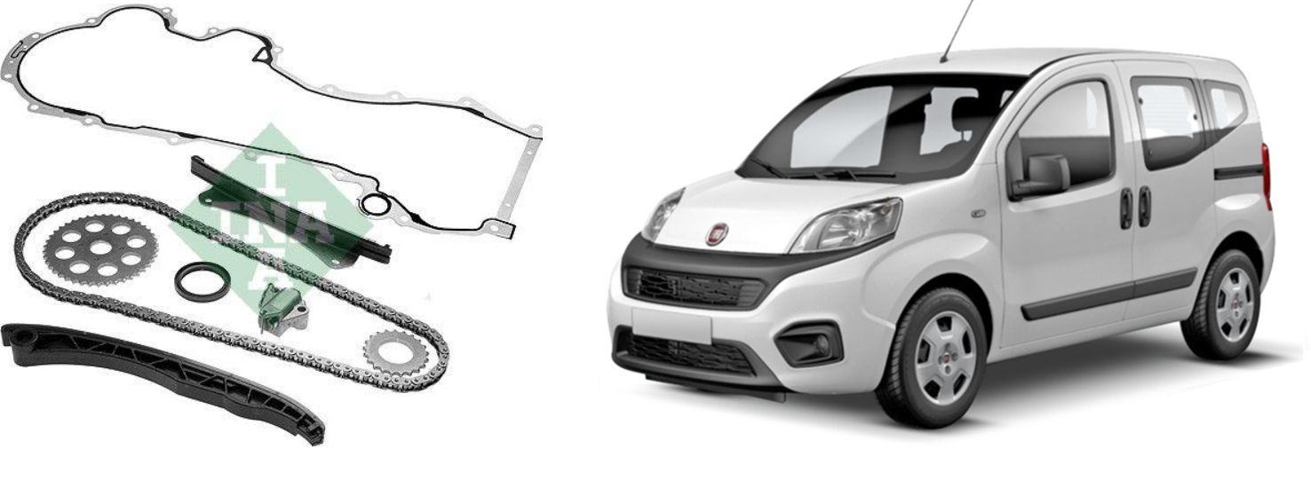 Kit catena distribuzione 1.3 Multijet per Fiat Qubo