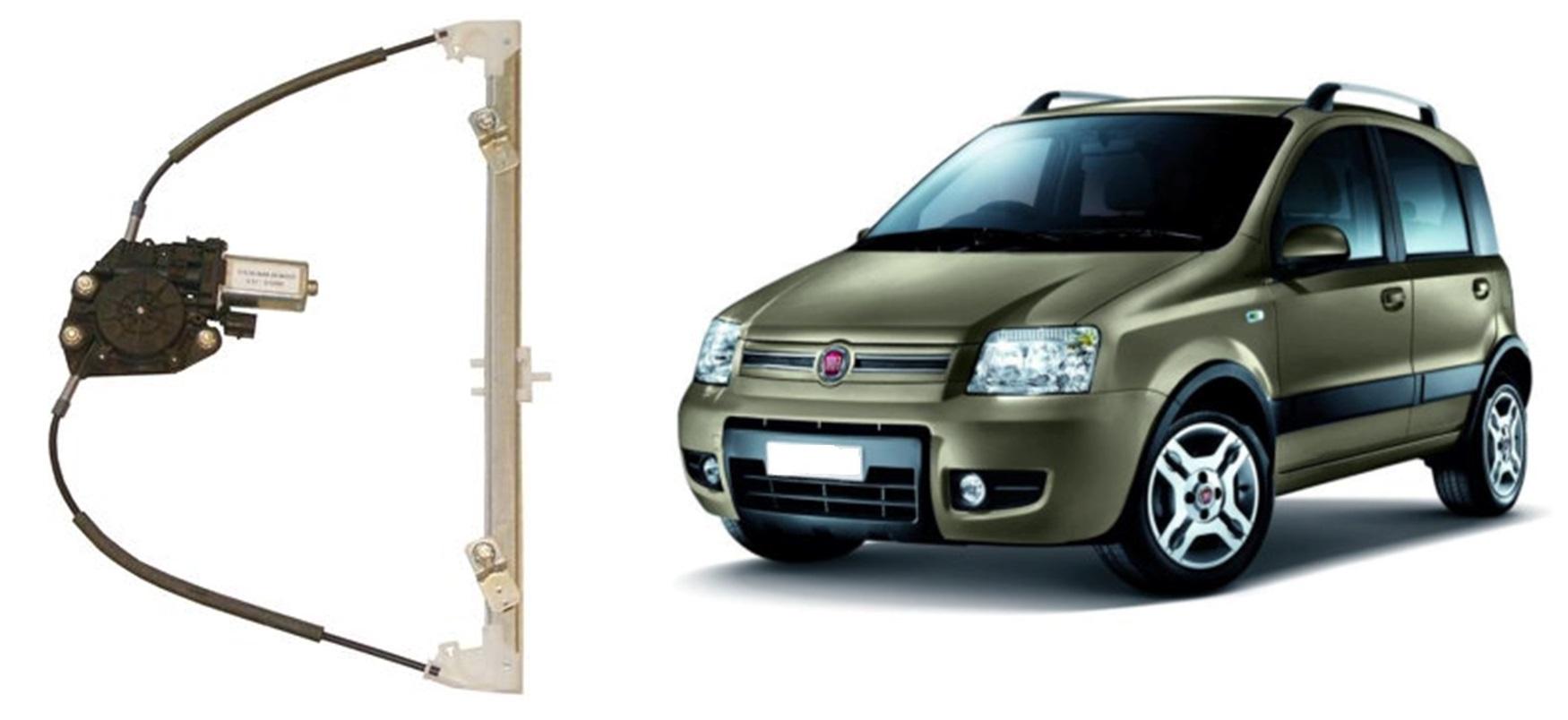 Alzacristalli elettrico anteriore DX per Fiat Panda 169