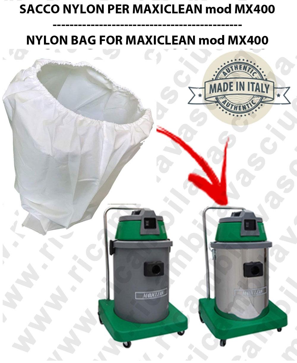 SACCO FILTRO NYLON cod: 3001220 PER aspirapolvere MAXICLEAN modello MX400 BY SYNCLEAN
