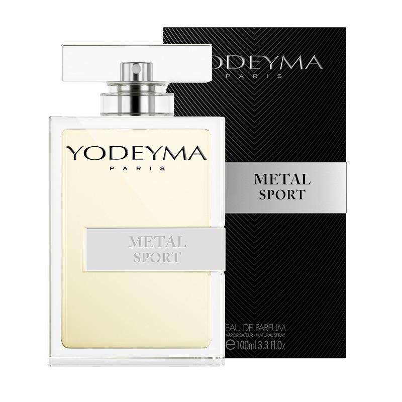 Yodeyma METAL SPORT Eau de Parfum 100ml (Allure Homme Sport) Uomo