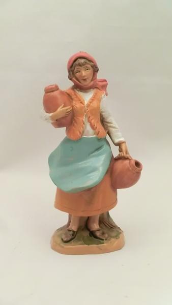 Donna con anfore cm 9,5