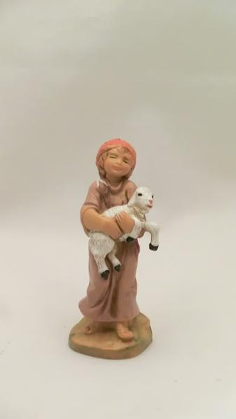 Ragazzo con agnello cm 9,5
