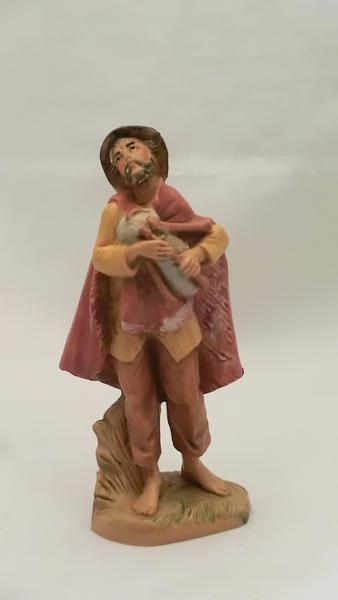 Pastore con zampogna cm 9,5