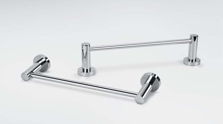 Porta salviette cm 83,5 per il bagno serie Plus Colombo design
