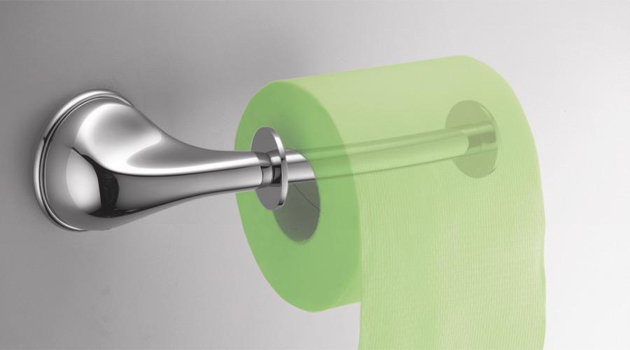 Porta rotolo per il bagno serie Melo Colombo design