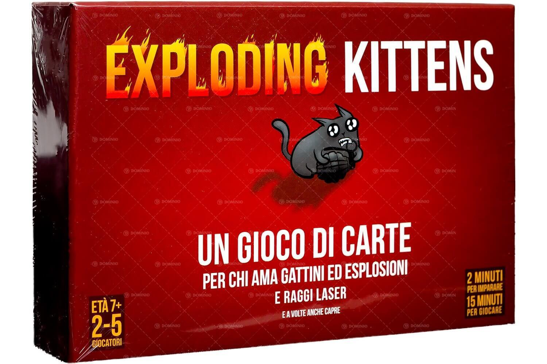ASMODEE 8540 EXPLODING KITTENS