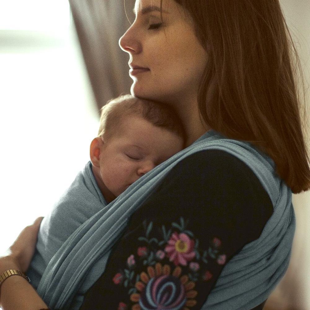 Baby Wrap Sling Ocean Fascia Portata Bebè Didymos
