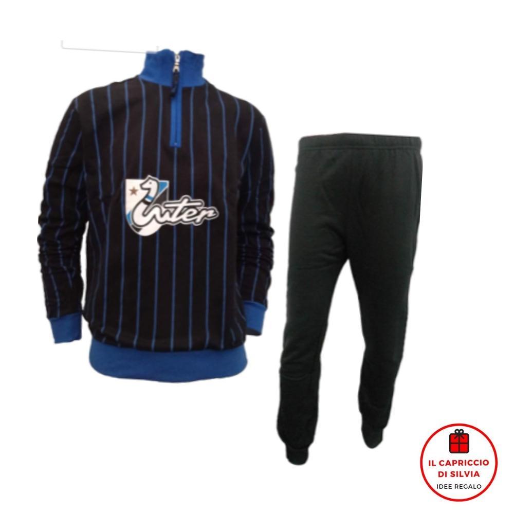 INTER pigiama felpa cotone uomo official product