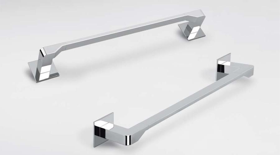 Porta salviette per il bagno cm 44 serie Forever Colombo design