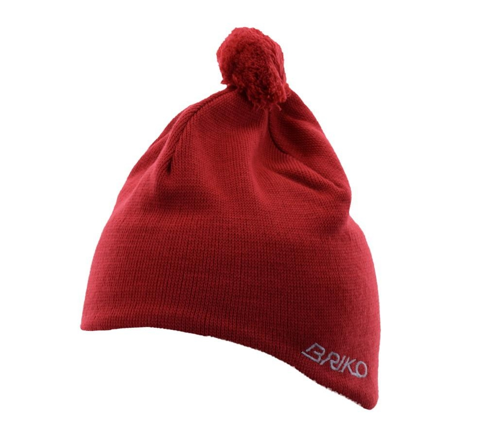 Buy Winter Red White Unisex Cap Lined 17456783 | Queency.co.uk