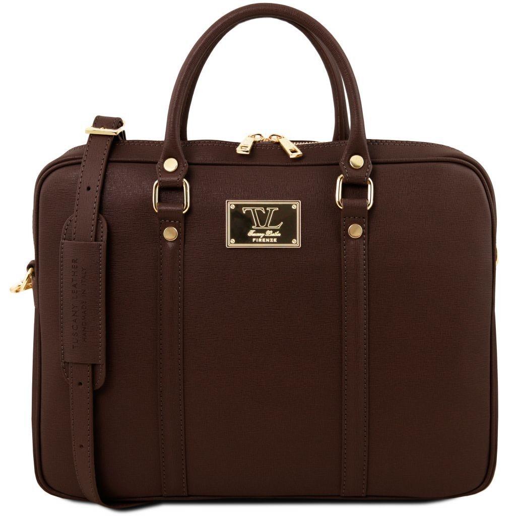 df0d52763a Tuscany Leather TL141626 Prato - Esclusiva cartella porta notebook ...