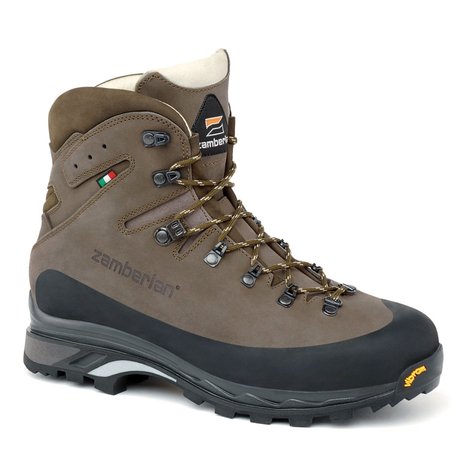 961 GUIDE LTH RR   -   Leather Backcountry Boots    -    Brown