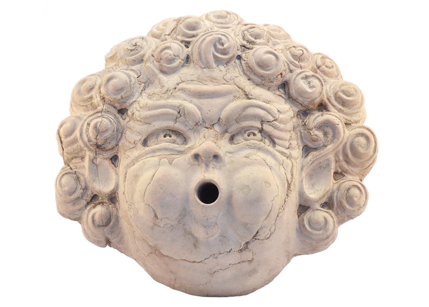 Buy Marble Grotesque Mask Eolo Wall Italian 17457735 | Italy2Us.com