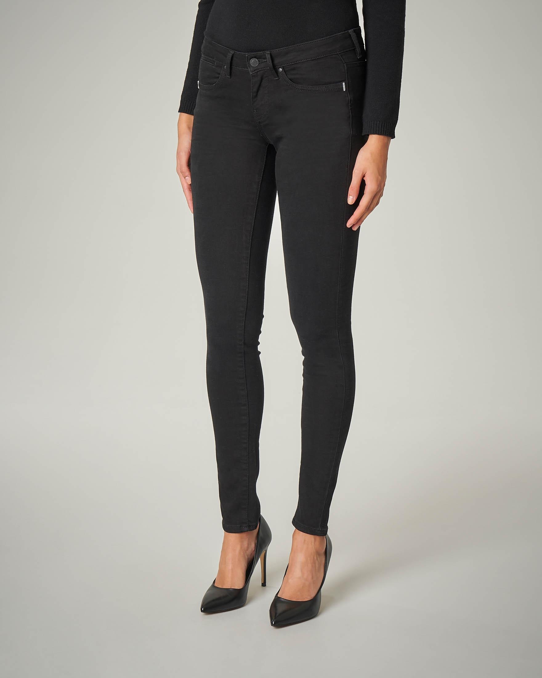 Jeans skinny neri