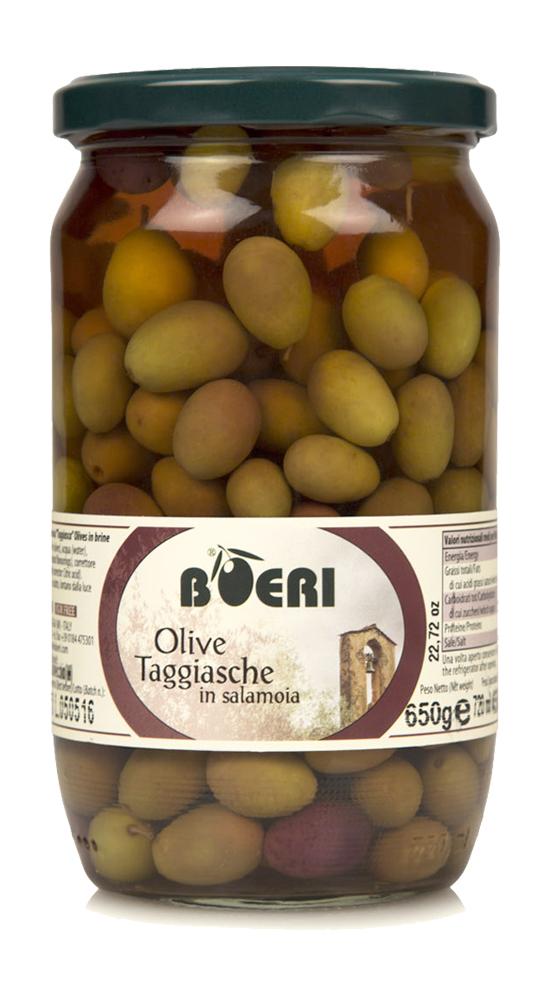 Olive Taggiasche in salamoia 314ml
