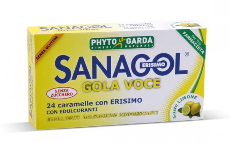 Sanagol Gola Voce 24 caramelle