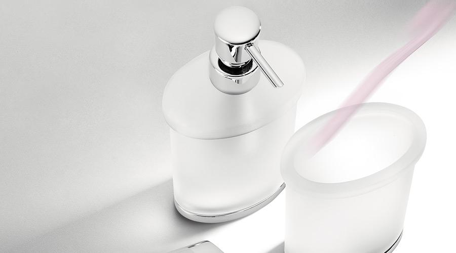 Dispenser dosa sapone per il bagno serie Land Colombo design