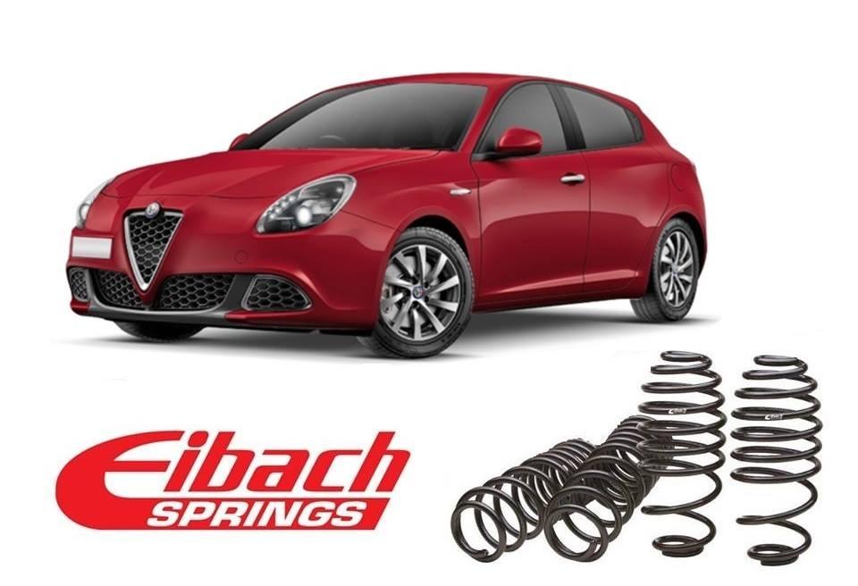 Molle assetto Eibach per Alfa Romeo Giulietta