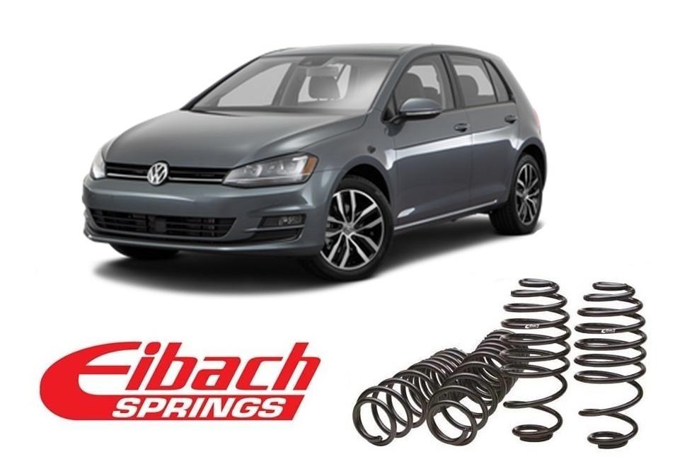 Molle assetto Eibach per VW Golf VI