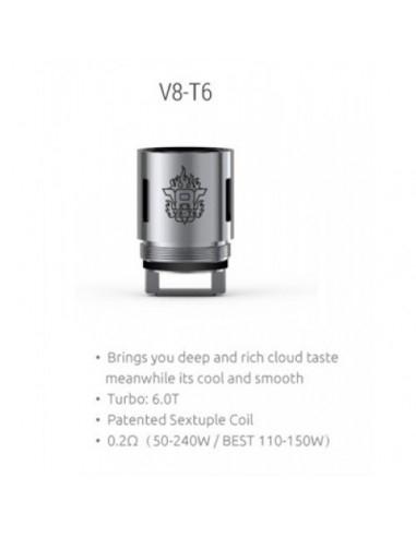 Resistenza V8-T6 per TFV8 - SMOK