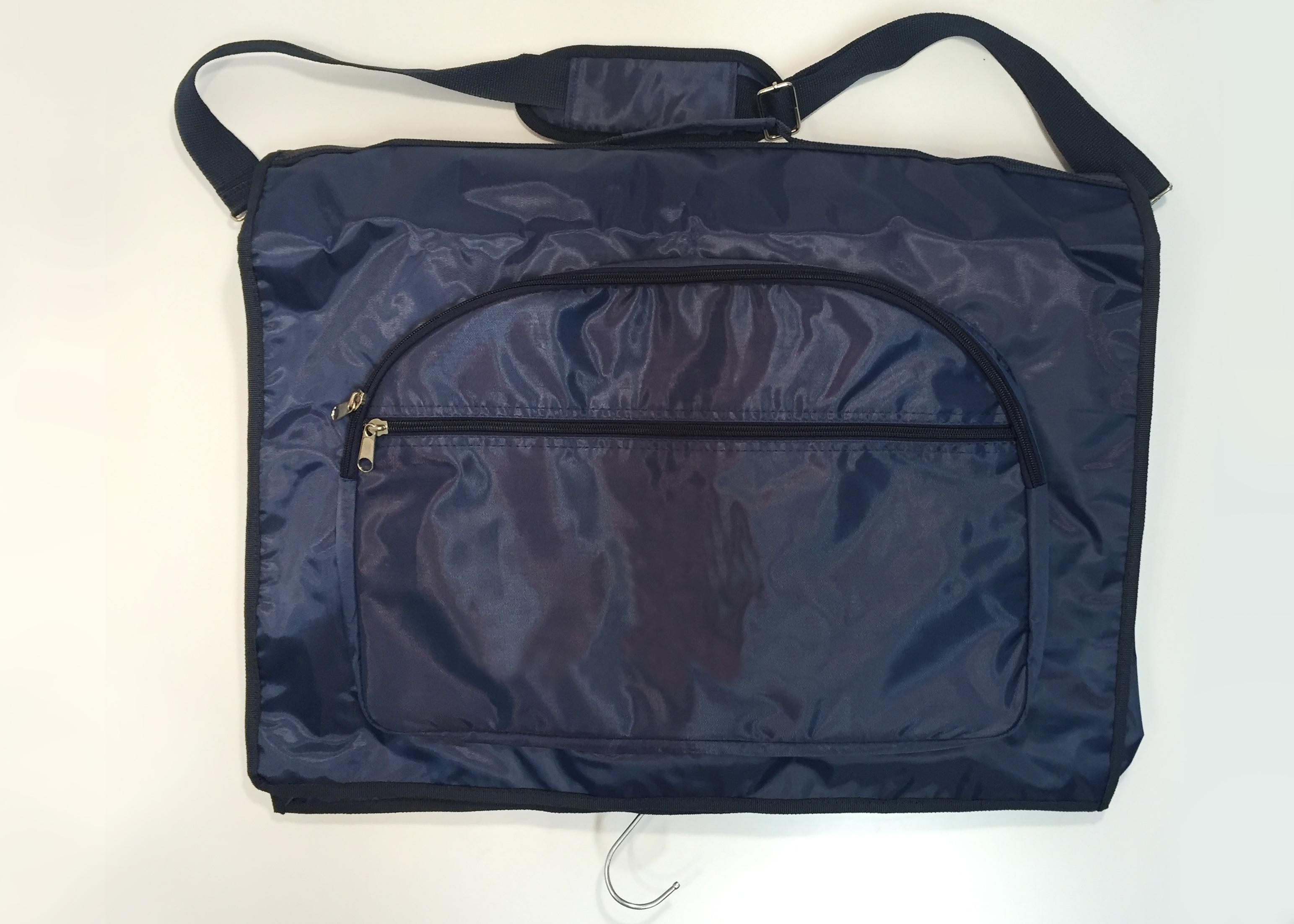 TRAVEL BAG FOR CLOTHES - BLU NYLON -