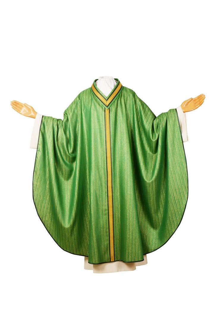 Casula CGES Gesuita Verde - Lana Viscosa