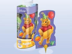 Candela fontana Winnie Pooh Compleanno - Disney