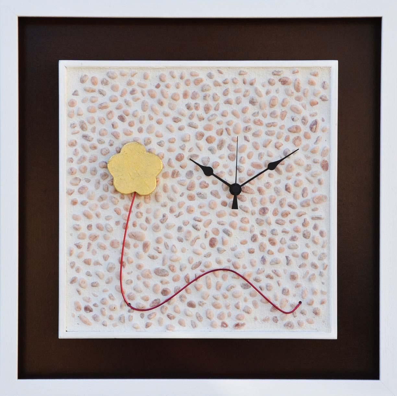 Orologio da parete, Fiore, Formato cm 45x45