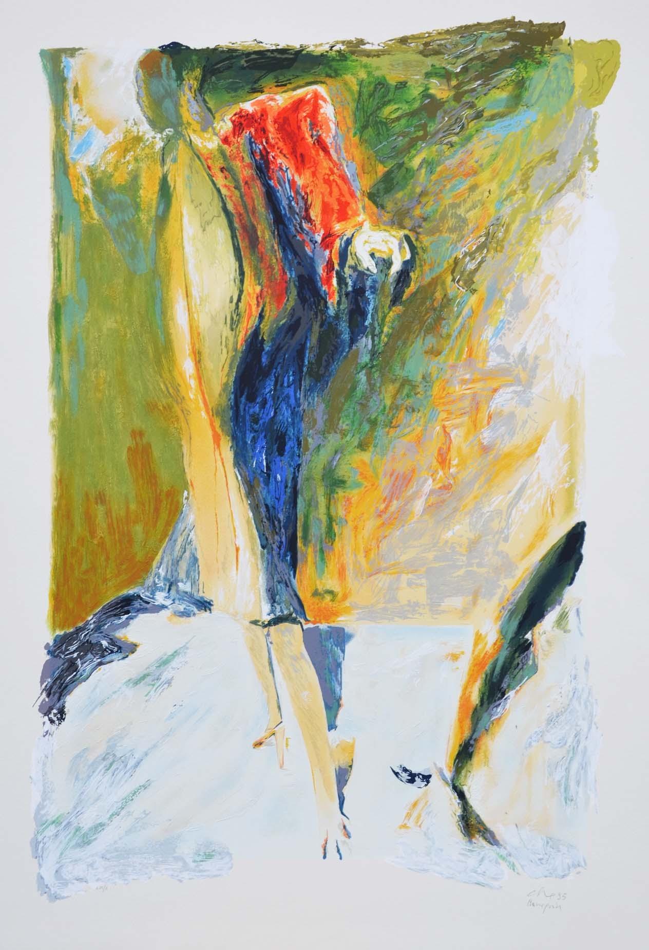 Calabria Ennio, Mannequin, Serigrafia, Formato cm 100x70