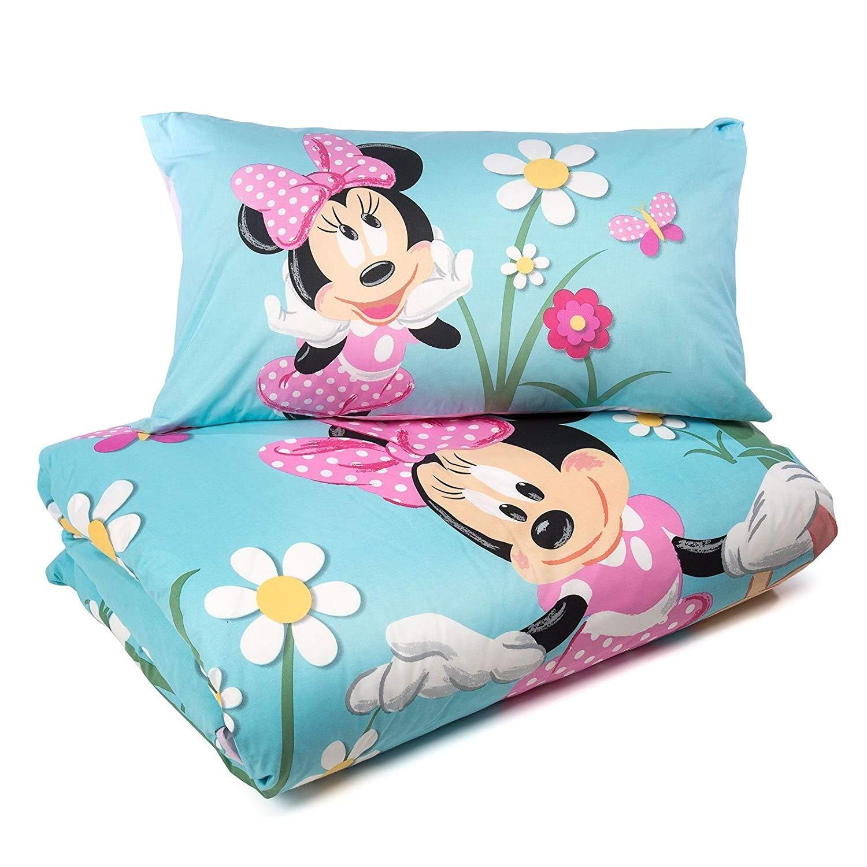 Completo Copripiumino Caleffi Disney.Dettagli Su Disney Set Copripiumino Minnie Mouse Country Caleffi Singolo Cotone