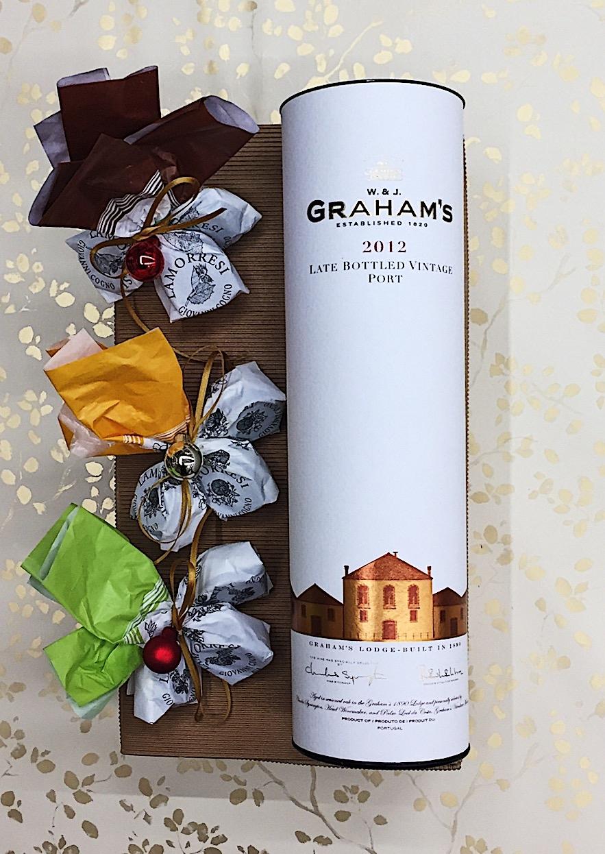 Confezione regalo Porto Graham L.B.V. 2012 e Lamorresi