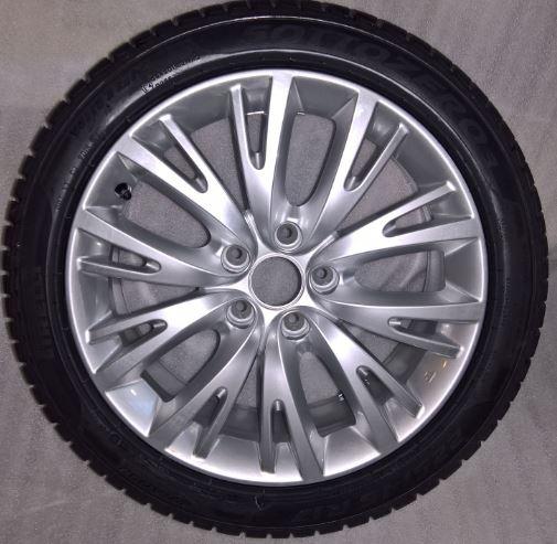 Ruota lega con pneumatico invernale Pirelli 225/45R17  GIULIETTA