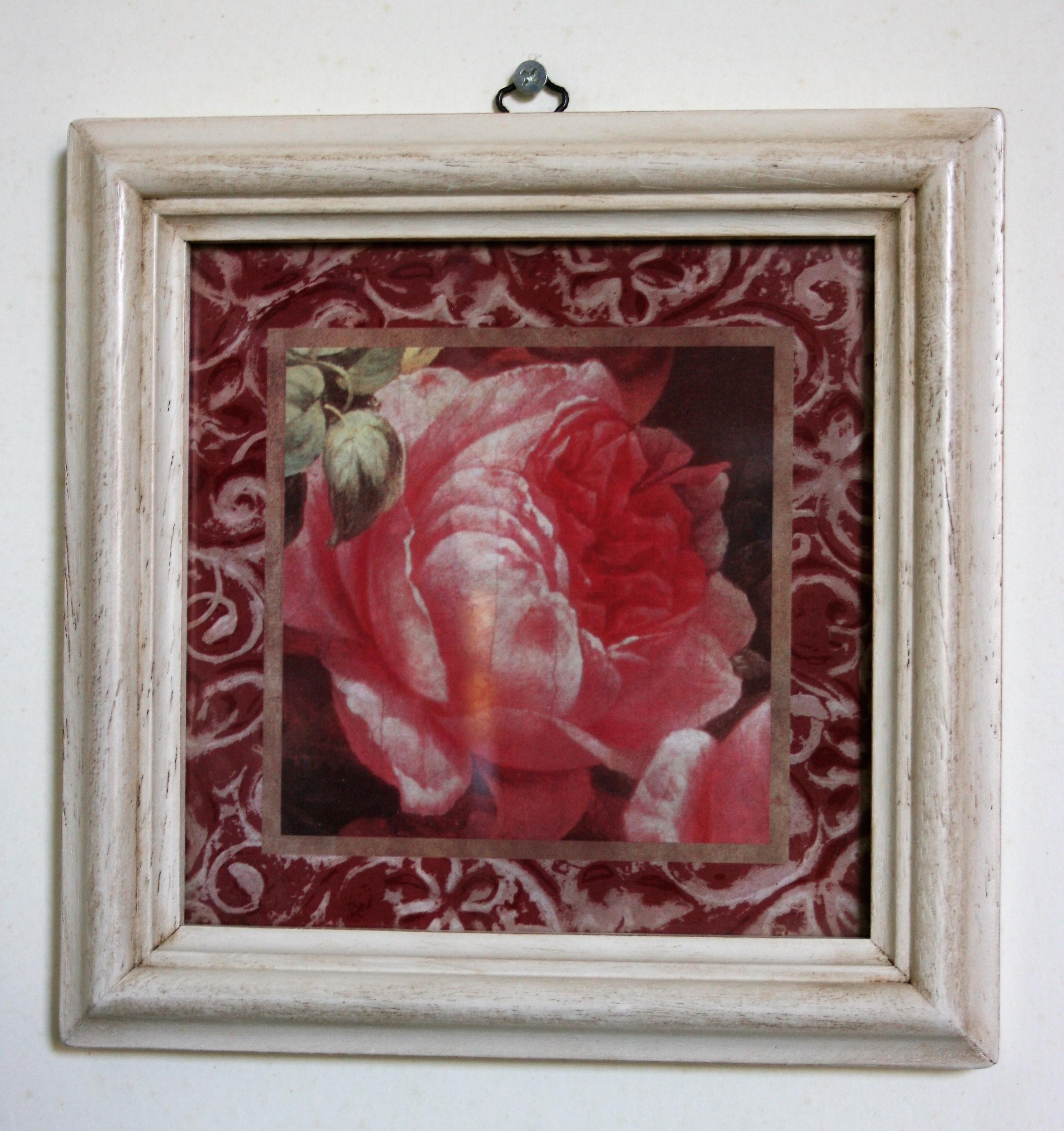 Quadro fiore singolo 3