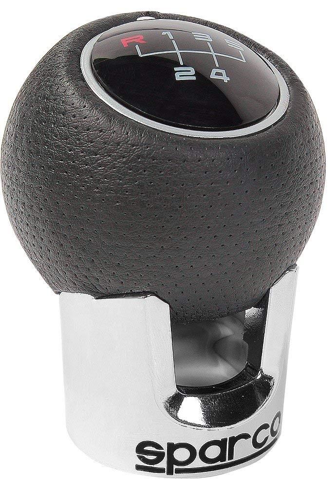 Pomello leva cambio alluminio e pelle mod. Sparco Lazio