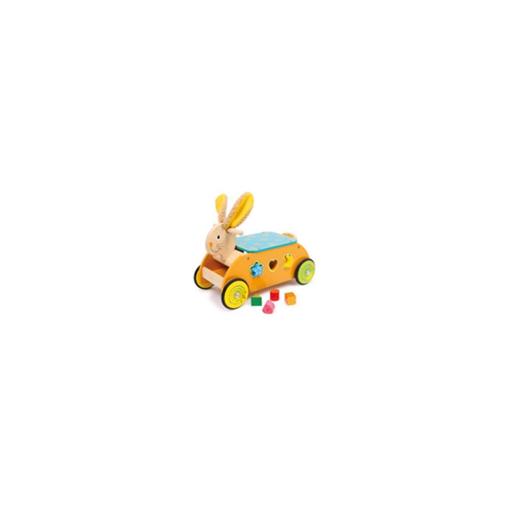 Primi passi - Coniglio con gioco ad incatro
