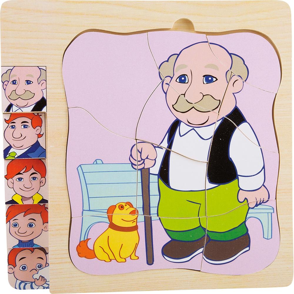 Puzzle a starti - La vita del nonno