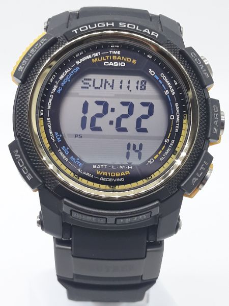 Orologio Uomo Casio Pro-Trek PRW-2000A-1DR con Altimetro, barometro, termometro, bussola vendita on line | OROLOGERIA BRUNI Imperia