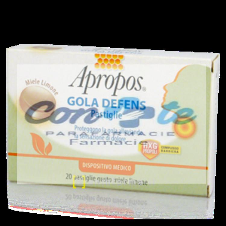 Apropos Gola Defens pastiglie gusto miele e limone