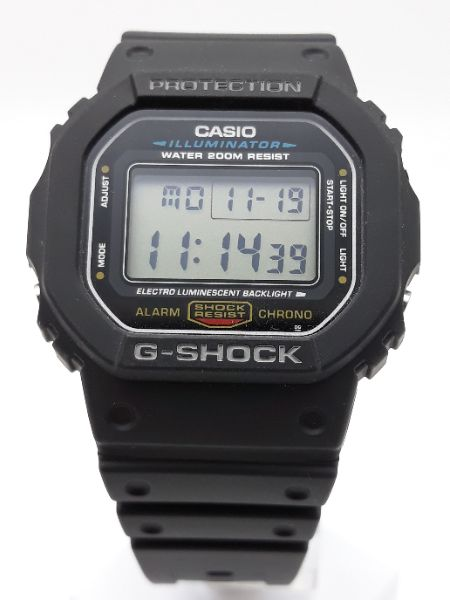 Orologio Casio Uomo G-SHOCK DW-5600E-1VER vendita on line   OROLOGERIA BRUNI Imperia