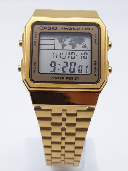Orologio uomo e donna Casio Vintage Oro A500WEGA-9EF vendita on line   OROLOGERIA BRUNI Imperia