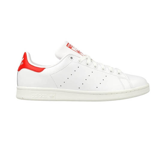 SNEAKERS ADIDAS STAN SMITH M20326 WHITE/RED