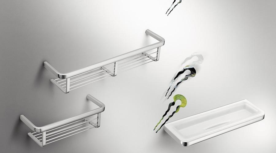 Accessori Per Bagno Colombo Design.Griglia Porta Oggetti Per Doccia E Vasca Per Il Bagno Serie Lulu